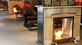 Firebox 650DB v1 Fireplace Inserts Outlet - In-Situ Image by EcoSmart Fire
