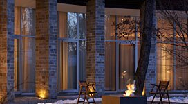 Base 40 Outdoor - In-Situ Image by EcoSmart Fire