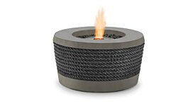Loop v2 Fire Pit Table - Studio Image by Brown Jordan Fires