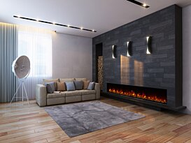 EL100 v1 [B] Fireplaces Outlet - In-Situ Image by EcoSmart Fire