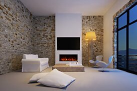 EL40 v1 [A] Fireplaces Outlet - In-Situ Image by EcoSmart Fire
