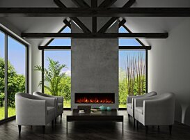 EL60 v1 [A] Fireplaces Outlet - In-Situ Image by EcoSmart Fire