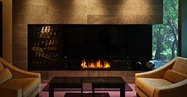 XL1200 v2 [A] Fireplaces Outlet - In-Situ Image by EcoSmart Fire