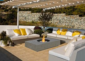 Martini 50 Fire Pit - In-Situ Image by EcoSmart Fire