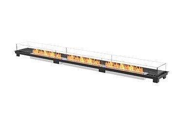 Linear 130 Fireplace Insert - Studio Image by EcoSmart Fire