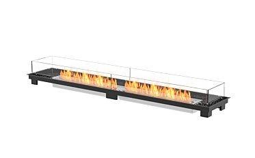 Linear 90 Fireplace Insert - Studio Image by EcoSmart Fire