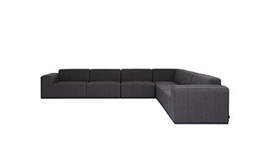 Connect Modular 6 L-Sectional Furniture - Studio Image by Blinde Design
