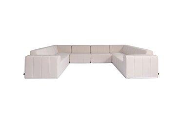 Connect Modular 8 U-Sofa Sectional Furniture - Studio Image by Blinde Design
