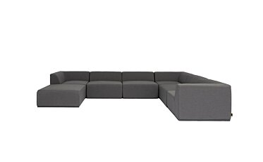 Relax Modular 7 U-Sofa Chaise Sectional Blinde Design - Studio Image by Blinde Design