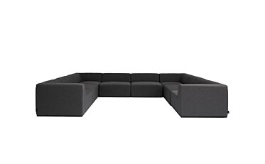 Relax Modular 8 U-Sofa Sectional Furniture - Studio Image by Blinde Design