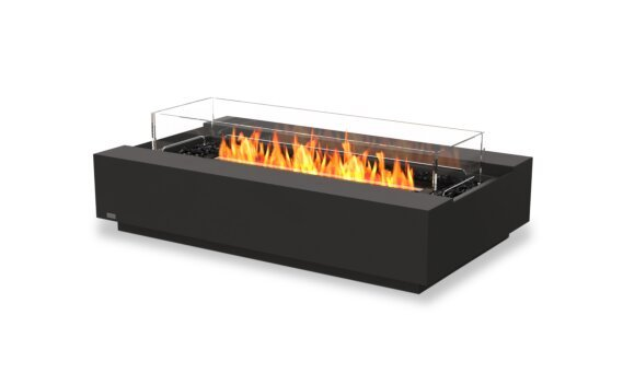 Cosmo 50 Fire Pit - Ethanol - Black / Graphite / Optional Fire Screen by EcoSmart Fire