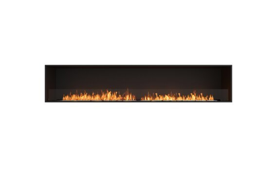 Flex 104SS Single Sided - Ethanol / Black / Installed View by EcoSmart Fire