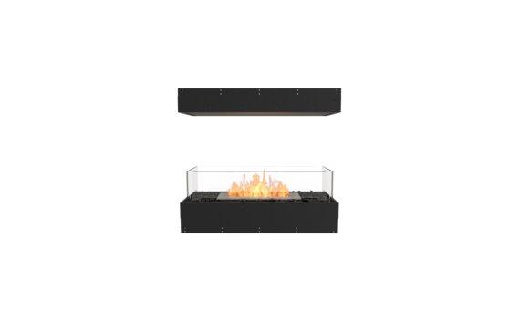 Flex 32IL Island - Ethanol / Black / Uninstalled View by EcoSmart Fire