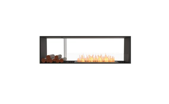 Flex 68DB.BX1 Double Sided - Ethanol / Black / Installed View by EcoSmart Fire