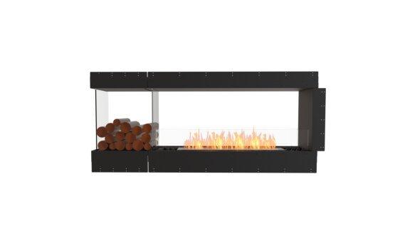 Flex 68PN.BXL Peninsula - Ethanol / Black / Uninstalled View by EcoSmart Fire