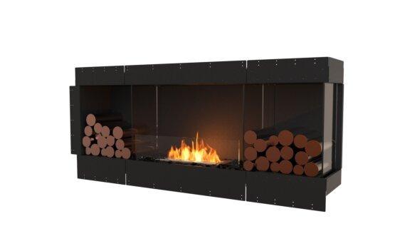 Flex 68RC.BX2 Right Corner - Ethanol / Black / Uninstalled View by EcoSmart Fire