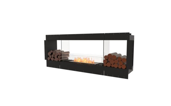 Flex 78DB.BX2 Double Sided - Ethanol / Black / Uninstalled View by EcoSmart Fire