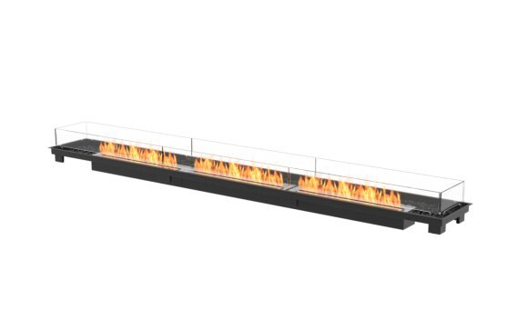 Linear 130 Fireplace Insert - Ethanol / Black / Indoor Safety Tray by EcoSmart Fire