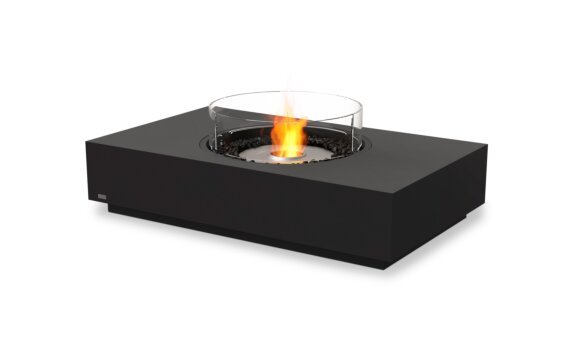 Martini 50 Fire Pit - Ethanol / Graphite / Optional Fire Screen by EcoSmart Fire