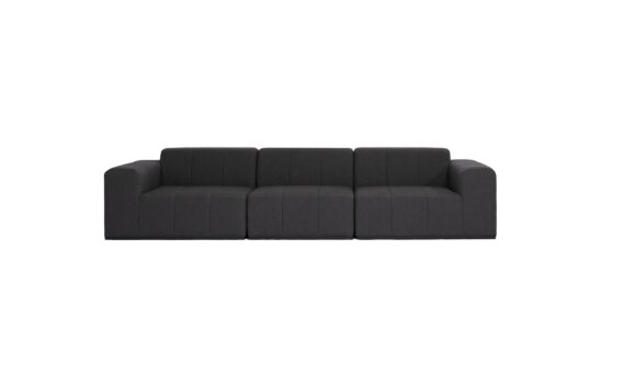 Connect Modular 3 Sofa Furniture - Sooty by Blinde Design