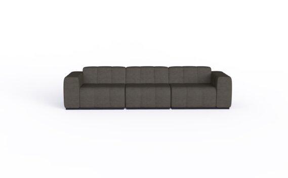 Connect Modular 3 Sofa Furniture - Flanelle by Blinde Design