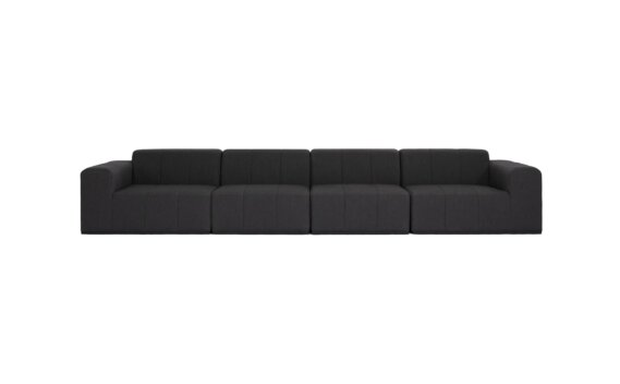 Connect Modular 4 Sofa Furniture - Sooty by Blinde Design