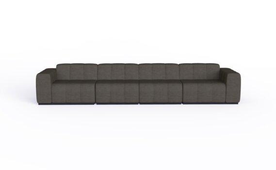 Connect Modular 4 Sofa Furniture - Flanelle by Blinde Design