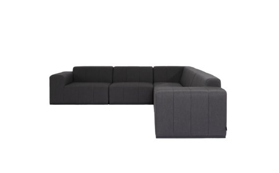Connect Modular 5 L-Sectional Furniture - Sooty by Blinde Design