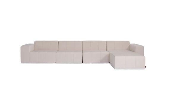 Connect Modular 5 Sofa Chaise Range - Canvas by Blinde Design