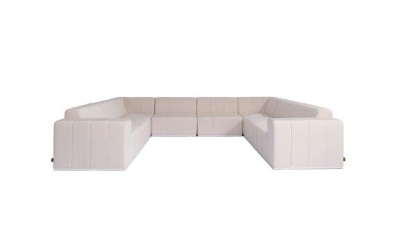 Connect Modular 8 U-Sofa Sectional Range - Canvas by Blinde Design