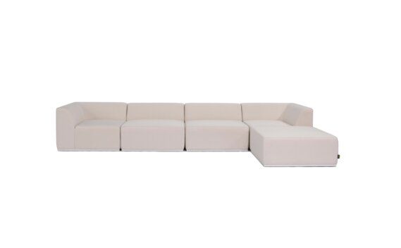 Relax Modular 5 Sofa Chaise Furniture - Canvas by Blinde Design