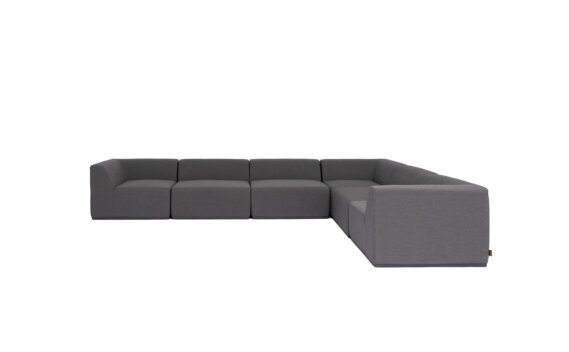 Relax Modular 6 L-Sectional Furniture - Flanelle by Blinde Design