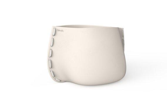 Stitch 100 Planter - Bone / White by Blinde Design