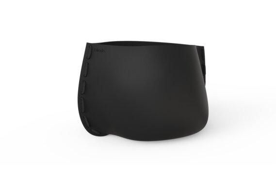 Stitch 100 Planter - Graphite / Black by Blinde Design