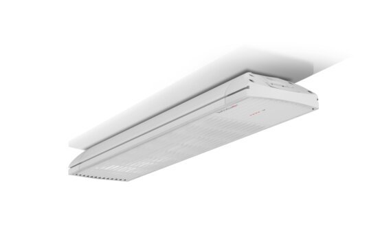 Spot 2800W Radiant Heater - White / White - Flame Off by Heatscope Heaters