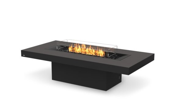 Gin 90 (Chat) Range - Gas LP/NG / Graphite by EcoSmart Fire