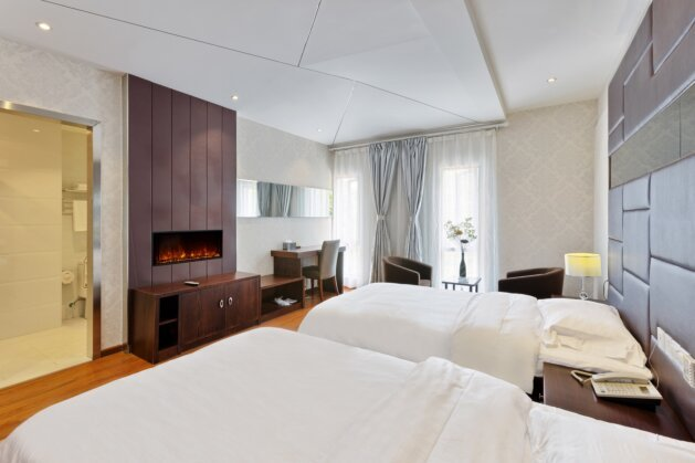 Hotel Room - EL40 Electric Serie by EcoSmart Fire