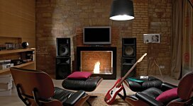Vision Designer Fireplace - In-Situ Image by EcoSmart Fire