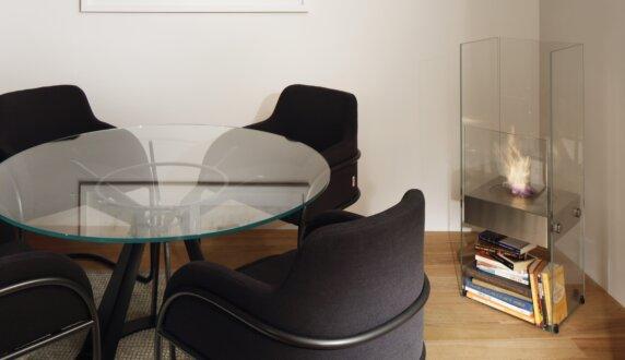 Merkmal Showroom - Ghost Designer Fireplace by EcoSmart Fire