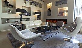 Lobby EcoSmart Fire Fireplace Insert Idea