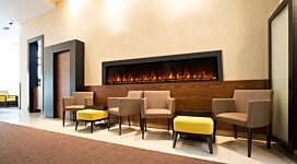 EL120 Fireplace Insert - In-Situ Image by EcoSmart Fire