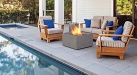 Rise Fire Pit - In-Situ Image by