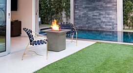 Strata Fire Pit - In-Situ Image by