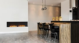 Flex 50RC.BXR Fireplace Insert - In-Situ Image by EcoSmart Fire
