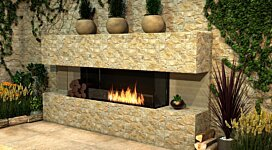 Flex 50BY.BXR Fireplace Insert - In-Situ Image by EcoSmart Fire