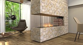 Flex 68PN.BXR Fireplace Insert - In-Situ Image by EcoSmart Fire