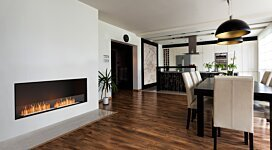 Flex 86SS Fireplace Insert - In-Situ Image by EcoSmart Fire