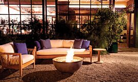 Private Residence Brown Jordan Fires Fire Pit Idea