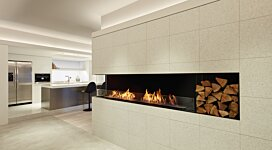Flex 86LC Fireplace Insert - In-Situ Image by EcoSmart Fire