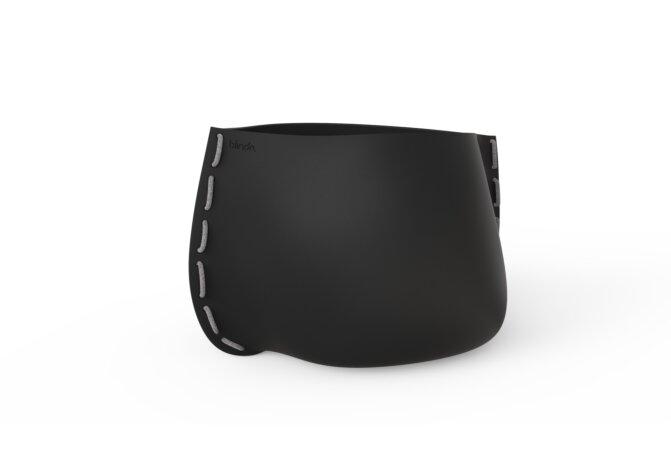 Stitch 100 Planter - Graphite / Grey by Blinde Design